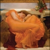 Flaming June, by Fredrick Lord Leighton