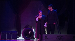 El accidente, comedia musical